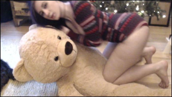 bbjademoon teddy bear hump and orgasm 2016 08 21 u9yi9R Preview