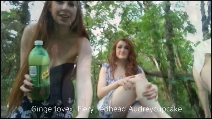 fiery redhead three redheads being bad in the park 2016 10 16 784JQU Preview
