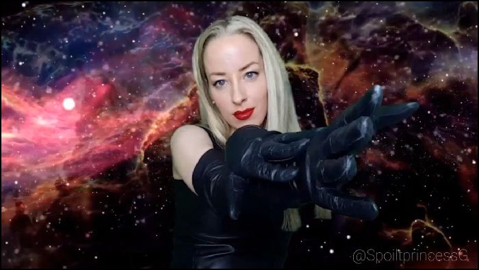 spoilt Princess G Leather gloves will send you into submission Preview