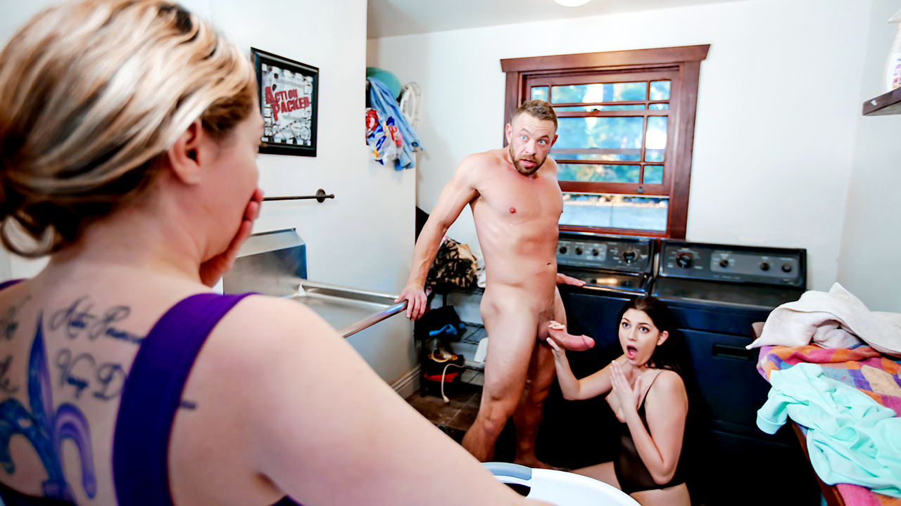 Miranda Miller – Laundering A Dirty Stepdaughter Mind (FamilyStrokes/2019/HD1080p)