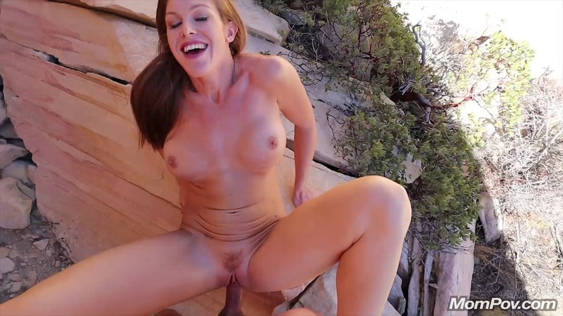 Ivy – Fit busty MILF on a hike (MomPov/2019/HD1080p)