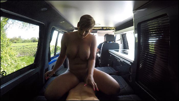 HannahBrooks RIDING COCK IN THE BACK OF MY CAMPERVAN Preview