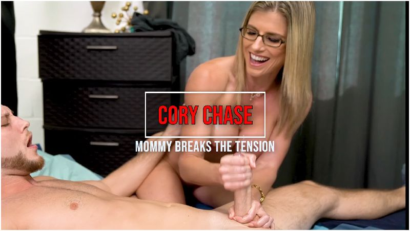Cory Chase in Mommy Breaks the Tension Preview