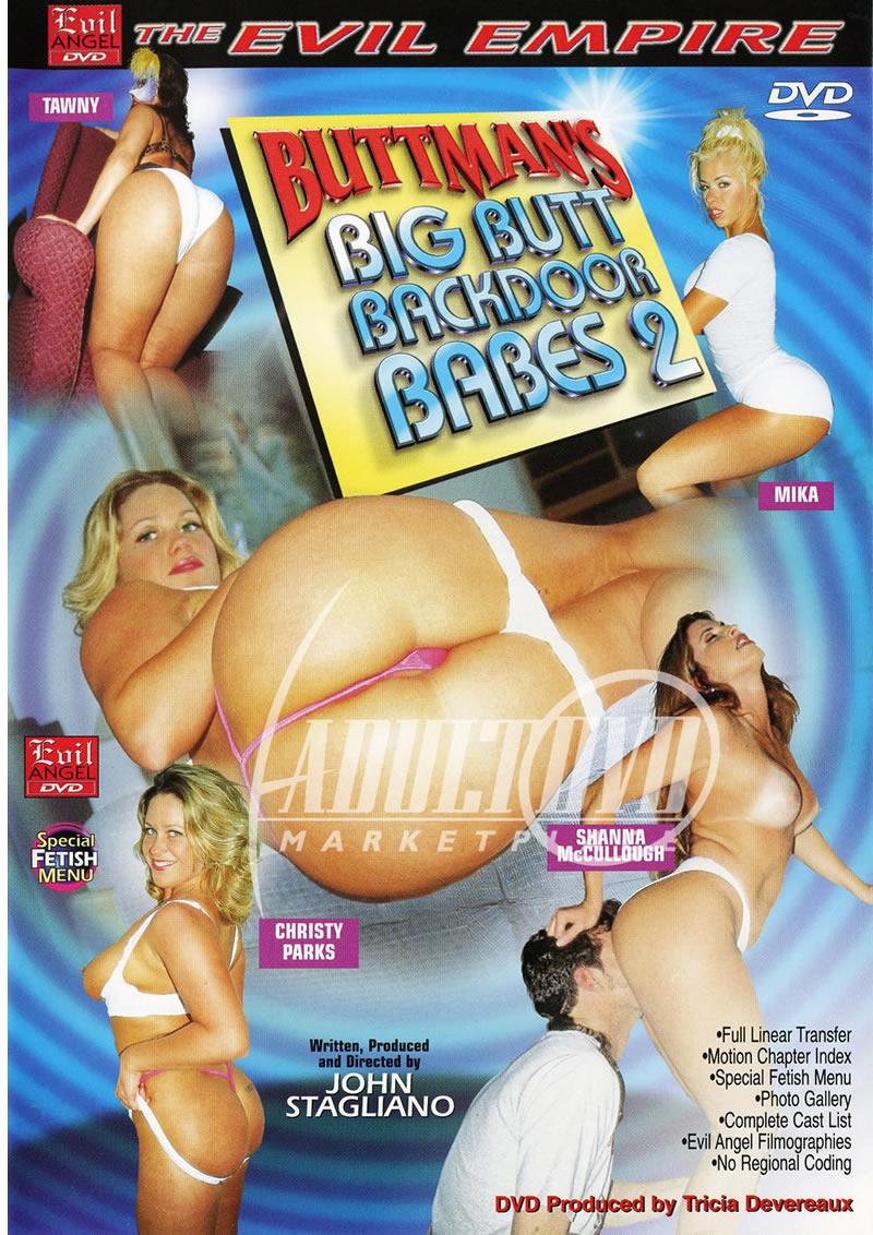 Buttmans Big Butt Backdoor Babes 2