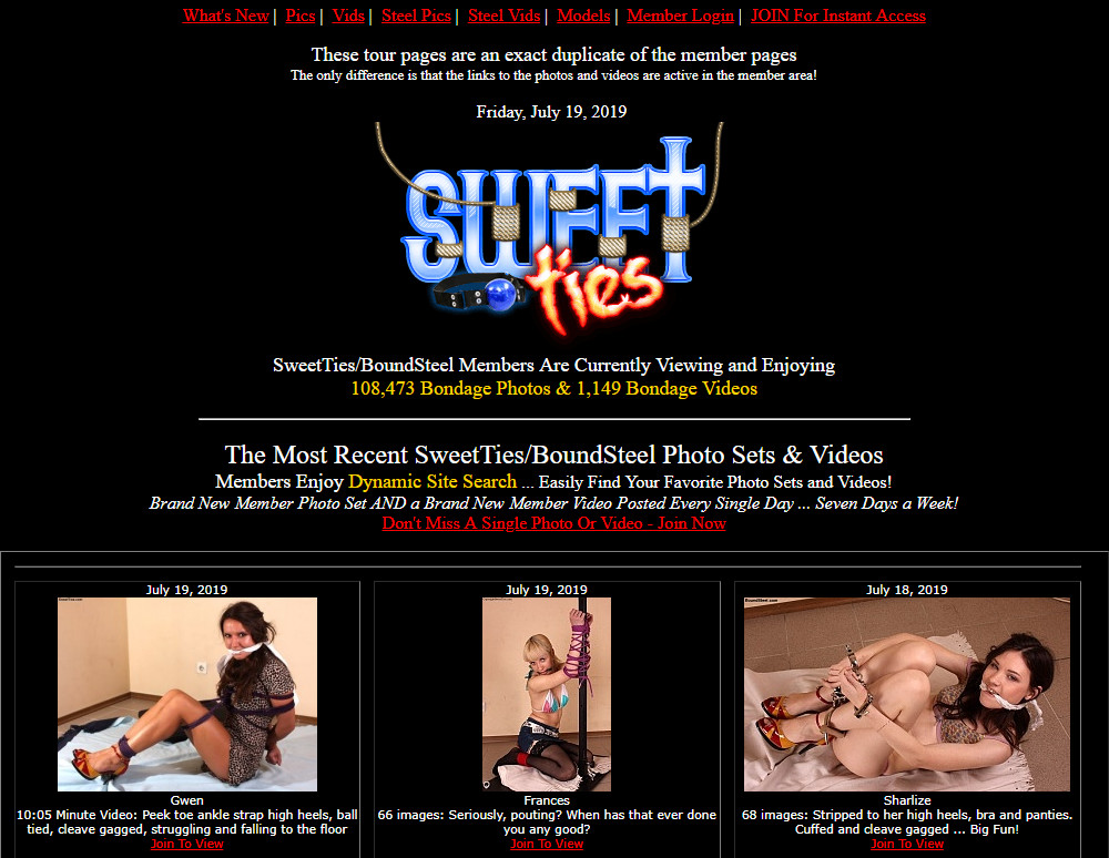 Sweetties.com SiteRip