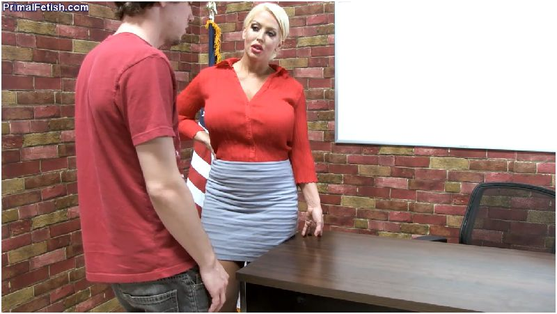 Alura Jensen - MILF Teacher Corporal Punishment Hand Job Preview