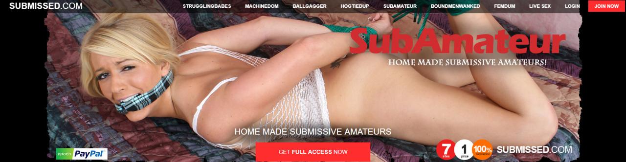 SubAmateur – Siterip – Ubiqfile