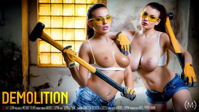 Lucy Li, Vanessa Decker – Demolition (SexArt.com/MetArt.com/2019/HD)