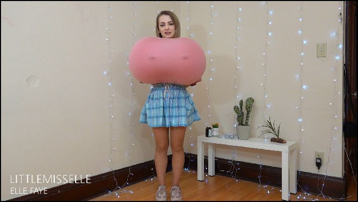 LittleMissElle Balloon Breast Expansion W Upskirt 3 Preview