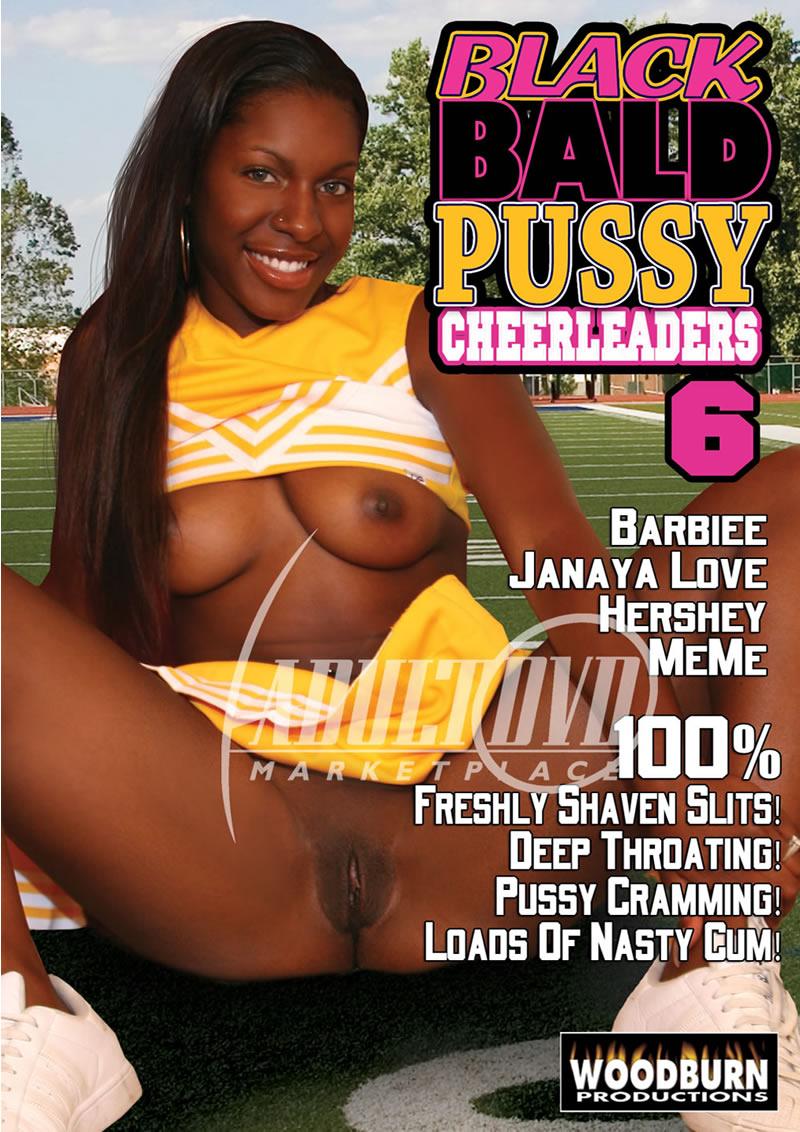 Black Bald Pussy Cheerleaders 6