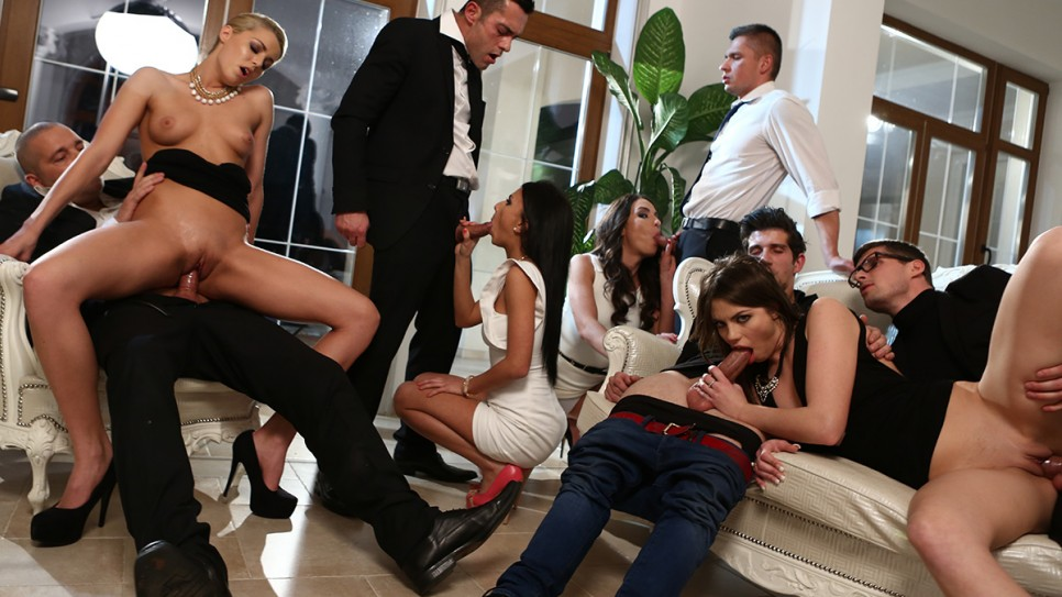 Watch manon martin first orgy for my wife