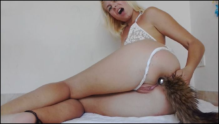 missanja foxy tail plug and asshole teaseplay 2019 02 25 3uWjBz Preview