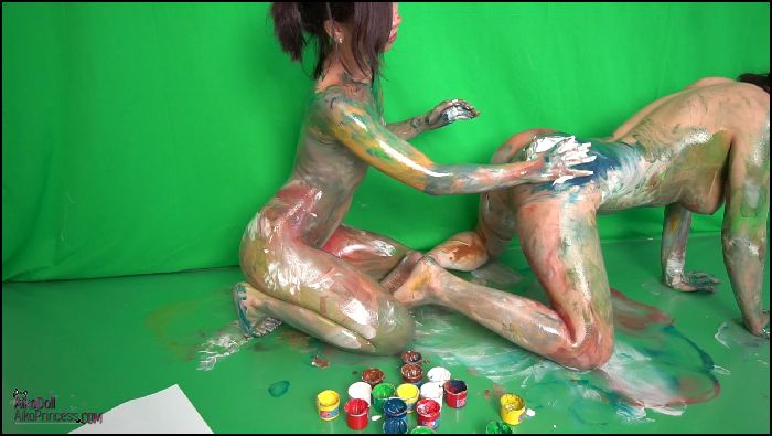 AsianDreamX – BODYPAINT ART P1 Girl Girl with Jem (manyvids.com)