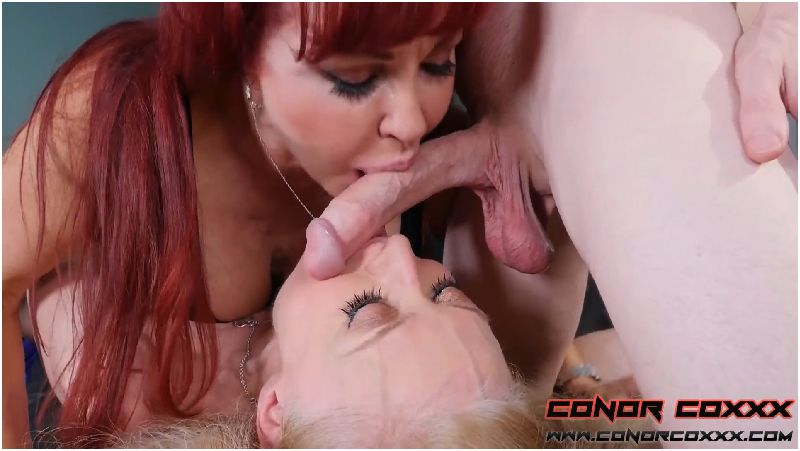 Two Mature Hotties Share A Big Young Cock with Nina Hartley & Sexy Vanessa