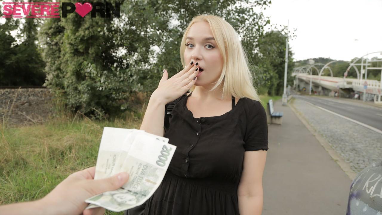 Vera Jarw – Blonde Russian with Big Naturals (PublicAgent/2019/HD1080p)