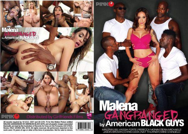 Malena Gangbanged By American Black Guys (2019)