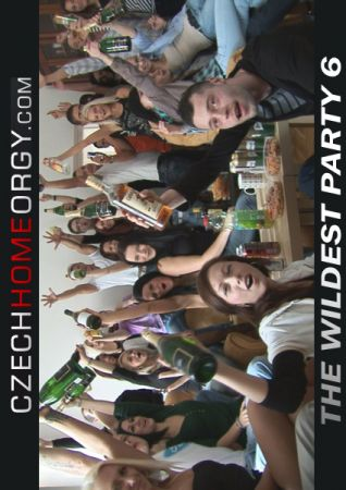 Czech Home Orgy: The Wildest Party 6