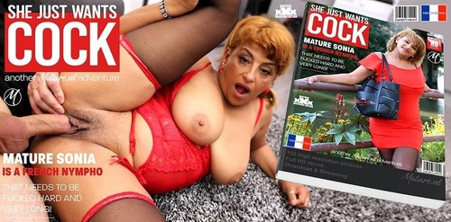 Sonia – Naughty French Mature Nympho Munching On A Hard Cock (Mature/2019/480p)