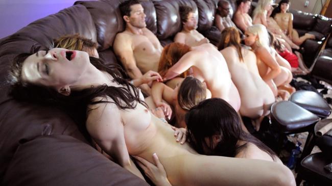 Liza Del Sierra, Asa Akira, Diana Doll, Raven Alexis, Marie McCray – First orgy for my girlfriend – Orgy by Paul Thomas (DorcelClub.com/2019/HD1080p)