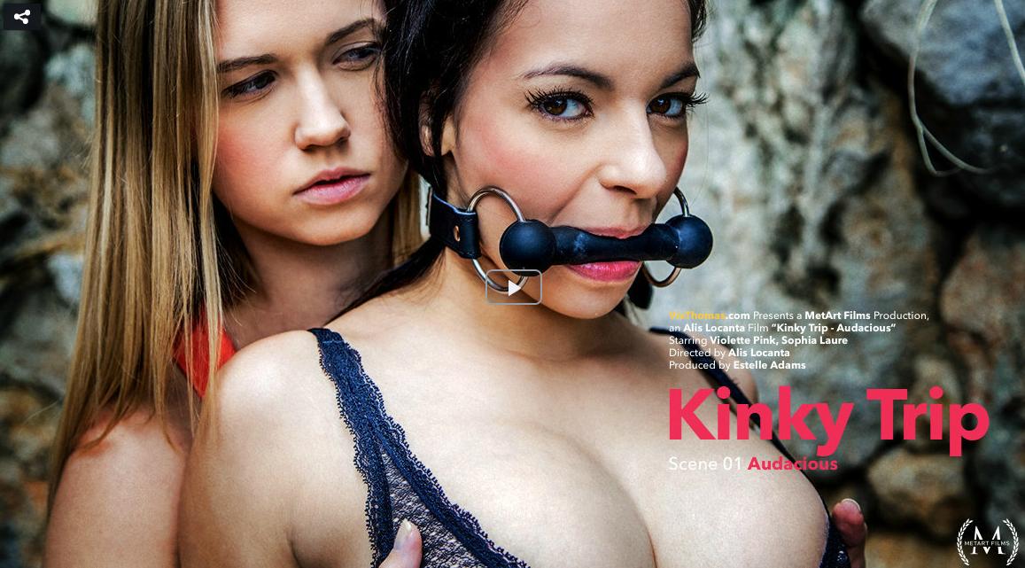 Sophia Laure, Violette Pink – Kinky Trip Episode 1 – Audacious (VivThomas.com MetArt.com 2019 HD)