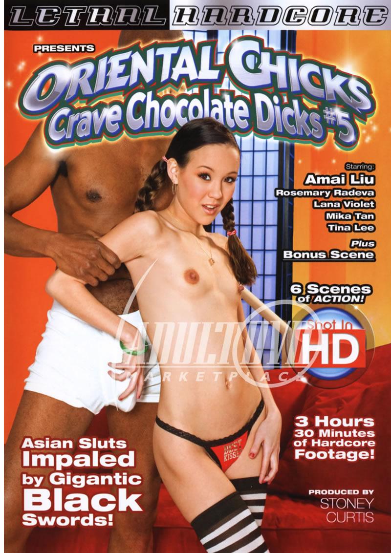 Oriental Chicks Crave Chocolate Dicks 5