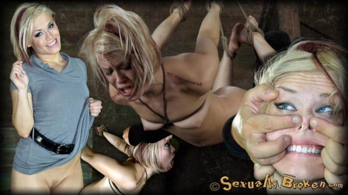 Ash Hollywood – Brutal Cock Sucking Multiple Orgasms Category 5 (SexuallyBroken.com 2019 HD)