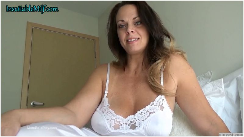 Diane Andrews - Clingy White Slip Preview