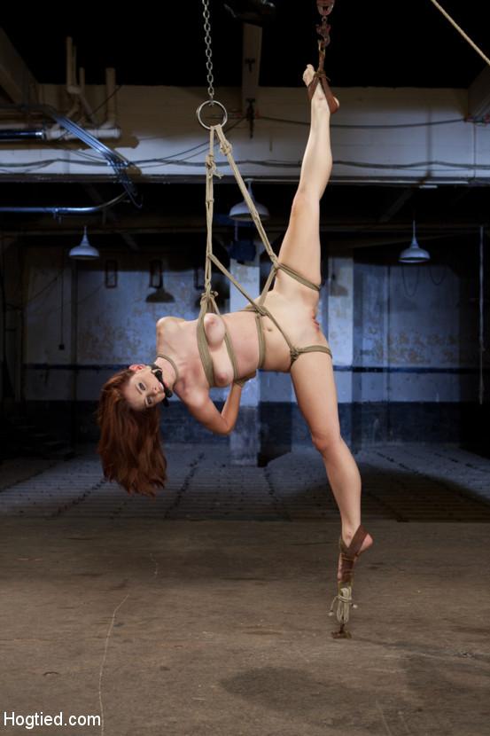 Melody Jordan – Melody Jordan Contorted in Severe Rope Bondage (HogTied.com Kink.com 2019 HD)
