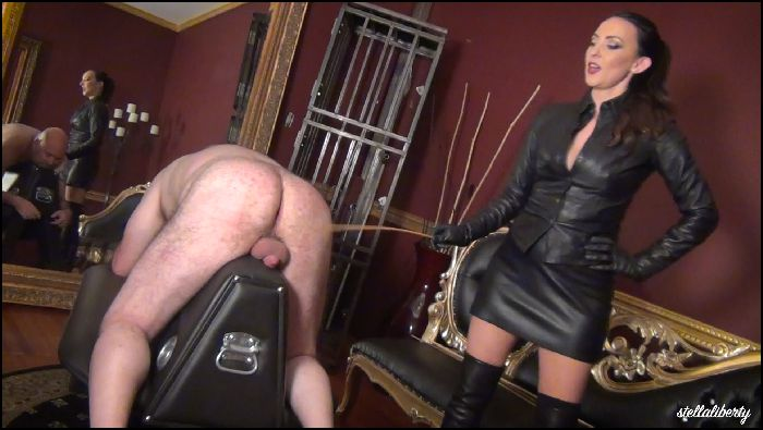 Stella Liberty – Heavy Dungeon Caning – manyvids