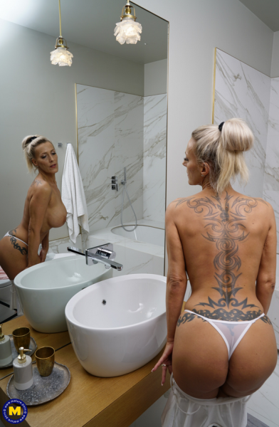 Lana Vegas EU 43 – Big breasted MILF Lana Vegas is taking a bath and wants you to join her 2019 Mature.nl HD1080p