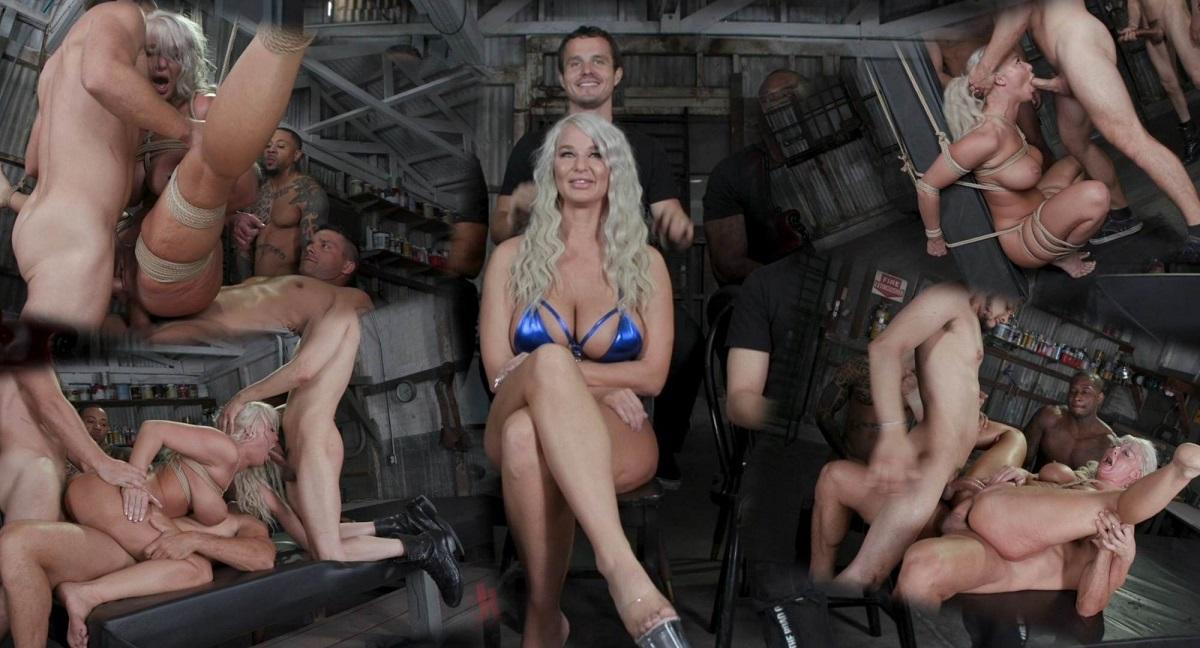 London River – London's Stripper Fantasy GangBang London Stuffed Airtight After Work 720p