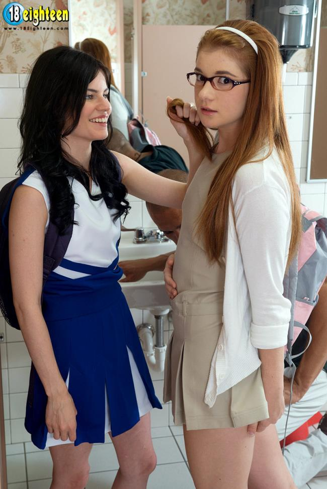 Ava Sparxxx And Heather Night – Innocent Nerd Gets Turned Out In Three-Way (18Eighteen.com ScoreHD.com 2019 HD)