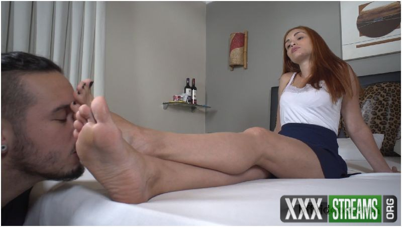 Lick Princess Sophia Sweaty Feet Of Boots Pt 1
