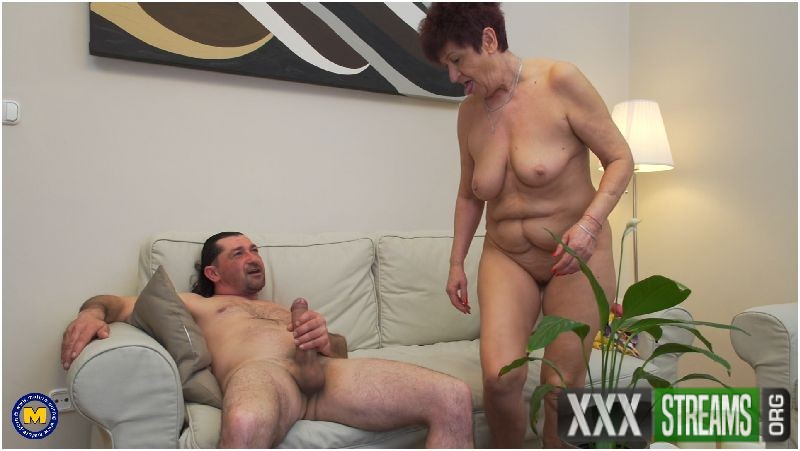 Mature couple having sex and let you in on their bed adventures Preview