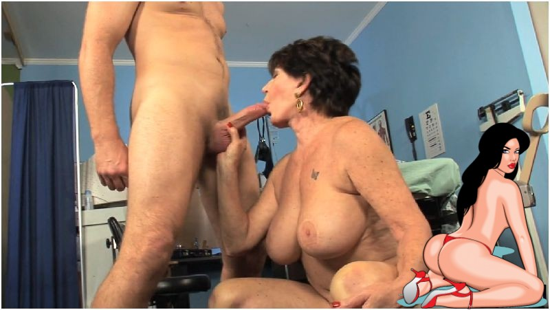 Bea Cummins (66) in The Doctor is in. Beas Pussy Preview