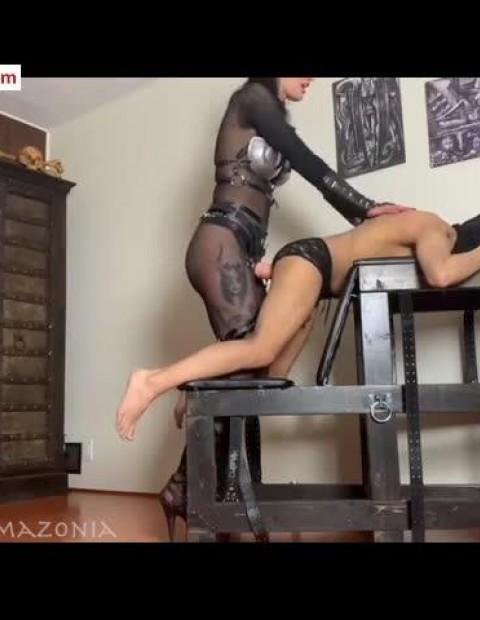 Clips4sale Mistress Damazonia Fucking my bitch worm 14 99 Premium user request
