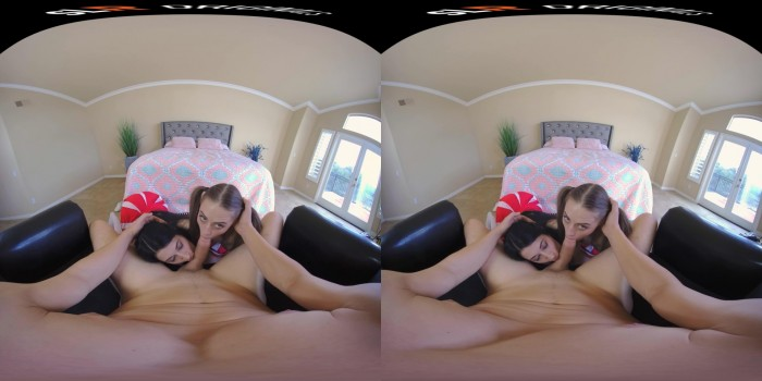 SLROriginals – Three Cheers for Threesomes! – Alex Coal, Kyler Quinn (Oculus 5K) (22 Mbps)