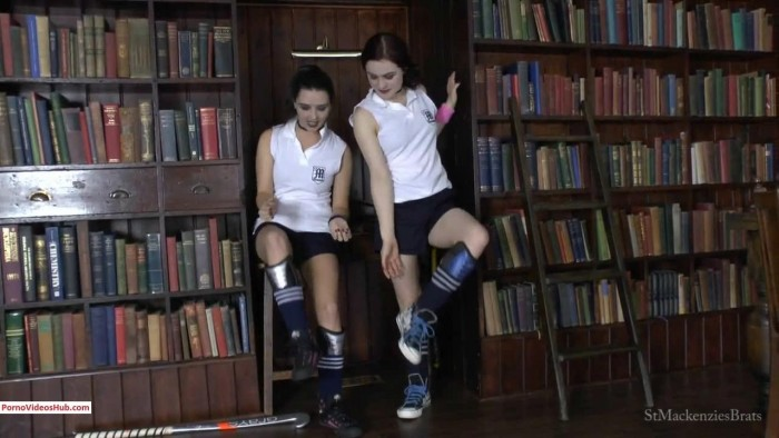 Clips4sale St Mackenzies Cute School Girls Pixiee Lola Make You Breathe in Their Scent After Sports Class 9 59 Premium user request