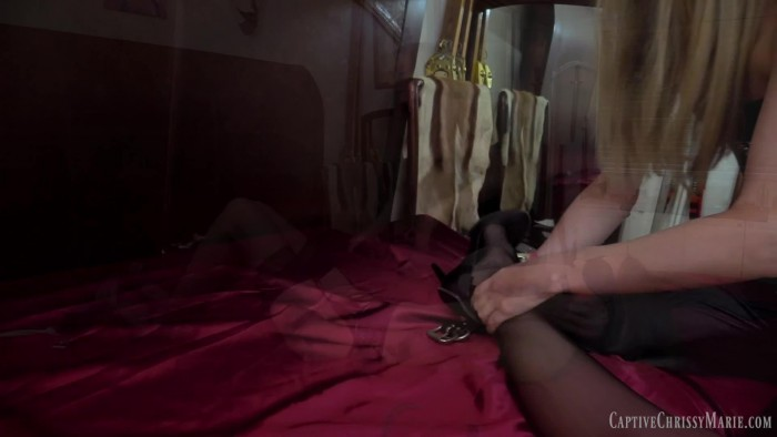 Clips4Sale – Captive Chrissy Marie – Leathered Lesbian Domination (1080p) [Fetish Syndicate]