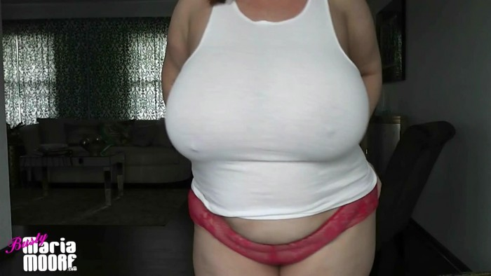 [ManyVids] Maria Moore – Tight White Tank Top (1080p)