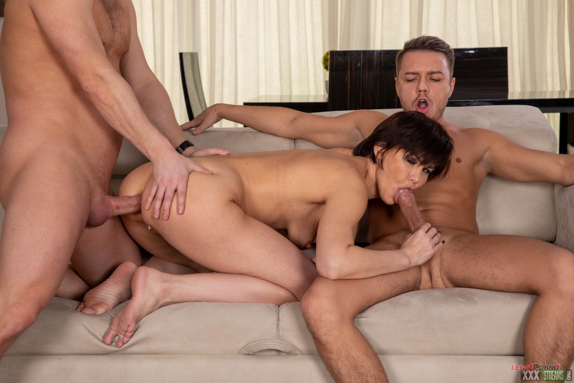 [LegalPorno.com] Russian MILF Inna, welcome to Porn with Balls Deep Anal, DP, Gapes and Swallow GL153 (2020)