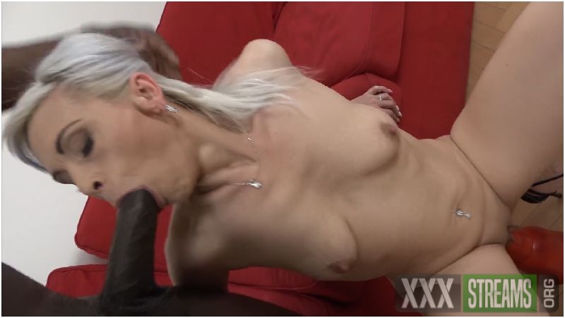 Skinny blonde mom enjoys BBC anal and creampie Preview