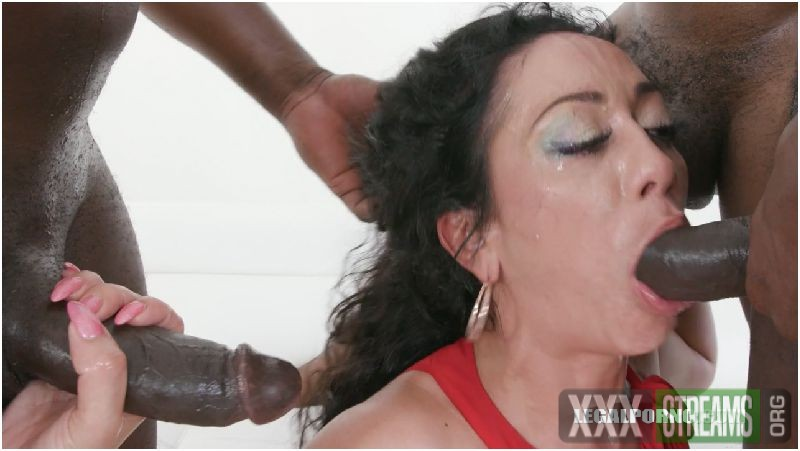 Sexy milf takes 3 BBC in all holes Preview