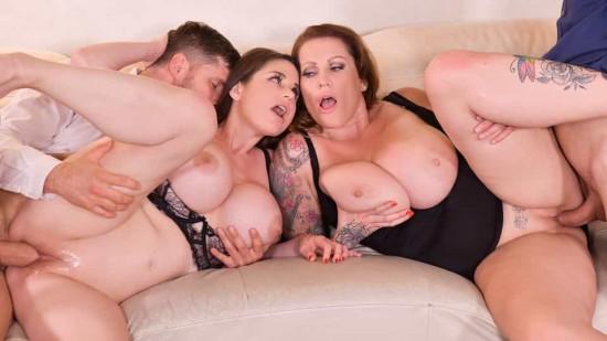 [DDFNetwork.com | PornWorld.com] Cathy Heaven, Laura Orsolya – Busty milfs Laura Orsolya & Cathy Heaven in a cock go…