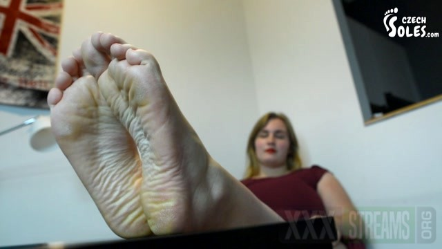 Czech Soles BBW sexy feet on table ignoring you.mp4.00013