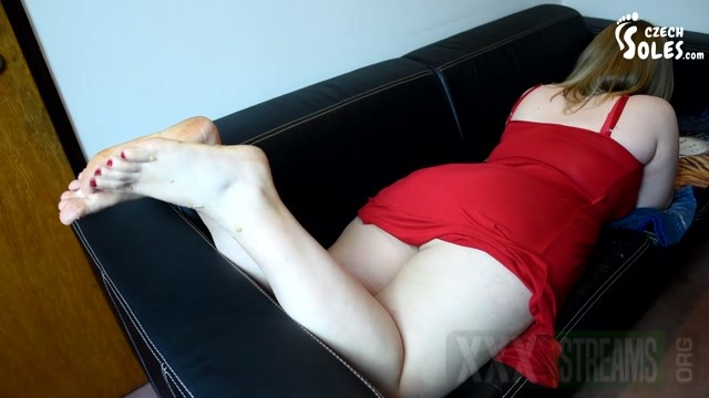 Czech Soles Big BBW girl crushing fruits and you with her HUGE feet.mp4.00015
