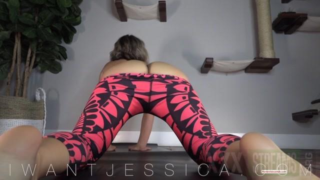 Goddess Jessica in Newly Converted Yoga Addict 18.44 Premium user request .mp4.00014