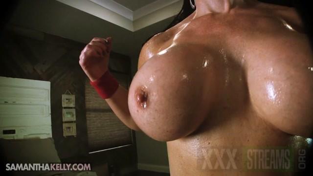 Samantha Kelly Bulging Biceps Covered In Cum.mp4.00003