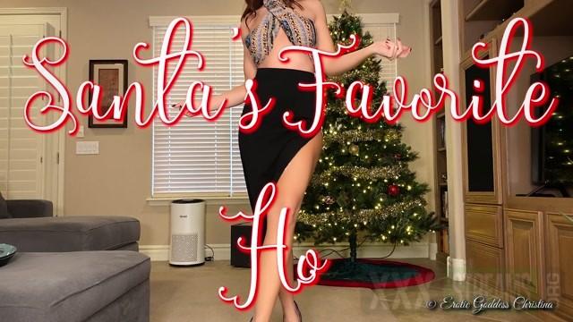 Goddess Christina in Day 8 Santa s Favorite Ho 12 Days of ChristinaMAS 29.99 Premium user request .m