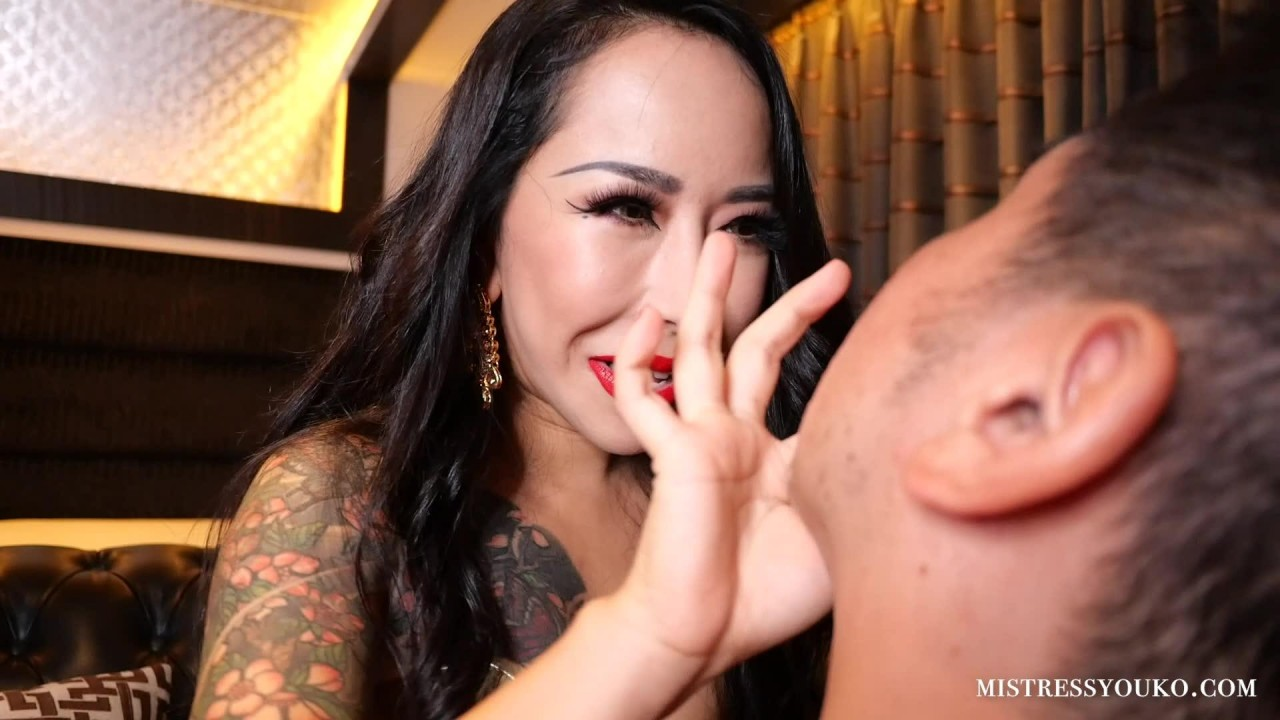 Japanese Mistress Youko – Spitting On Your Dirty Face 1080 HD